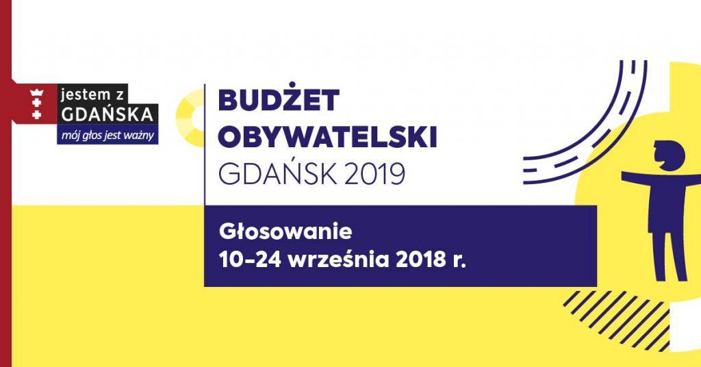 Głosowanie na projekty Budżetu Obywatelskiego 2019