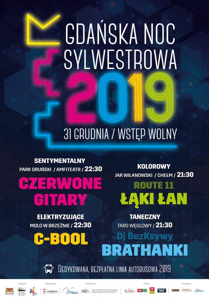 Sylwester w Gdańskich Dzielnicach 2019