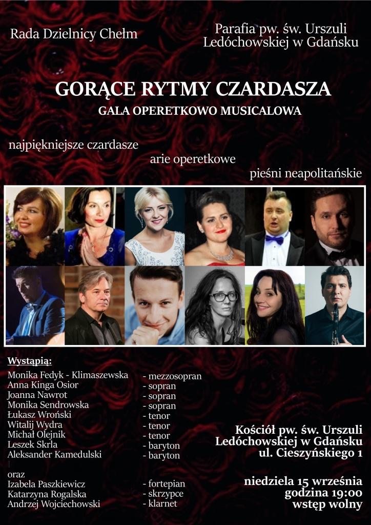 Koncert dla mieszkańców - Parafia pw. św. Urszuli Ledóchowskiej, 15 września