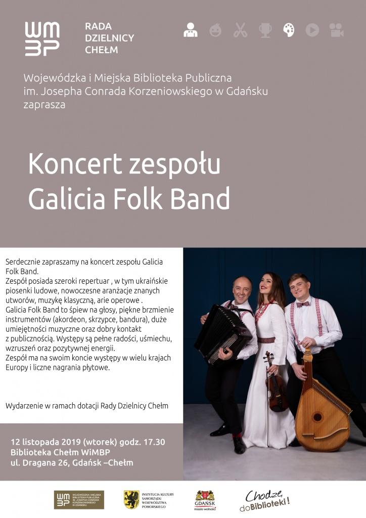 Koncert Zespołu Galicia Folk