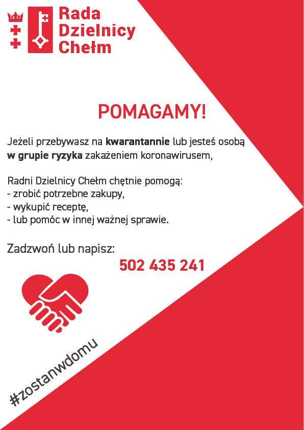 Pomoc dla mieszkańców dzielnicy
